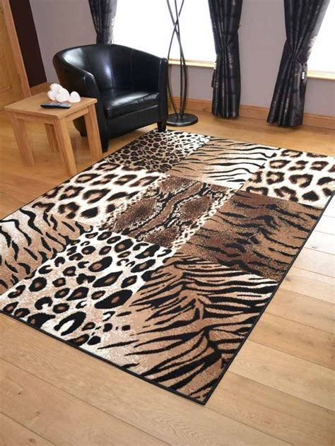 small animal print rugs details about tiger leopard animal print runners small large carpet rugs cheap