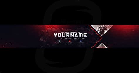 Top Gaming Banner Youtube Channel Art Photoshop Template Free Download Desi Gravity Free Channel Banner Template