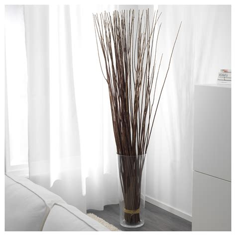 ikea branches smycka dried plants willow bunch brown 180 cm ikea