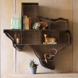 Home Decor Texas by Texas Cubby Wall Shelf Eclectic Display And Wall