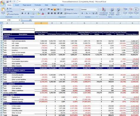 personal financial statement excel personal income and expense