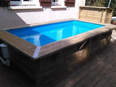 piscine bois pas cher 2298 les piscines en bois en photo