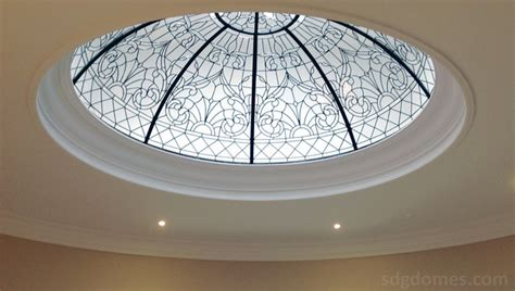 Glass Dome Ceiling by Decorative Leaded Glass Ceiling Domes
