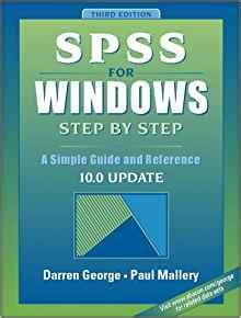 windows 10 step by step 2nd edition books spss for windows step by step a simple guide