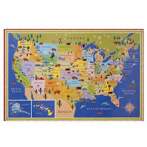 united states map wall images
