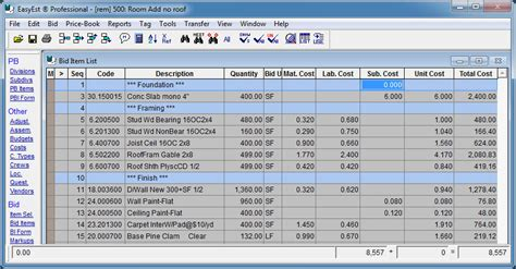 construction bid software easyest estimating software csc software