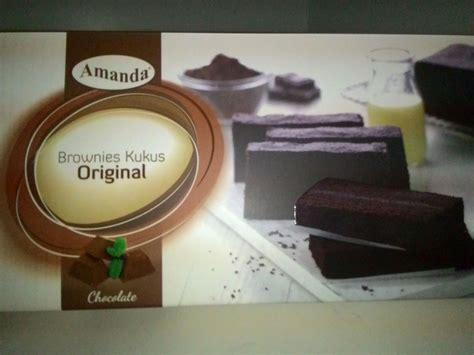 jual brownies kukus amanda rasa original r i z k
