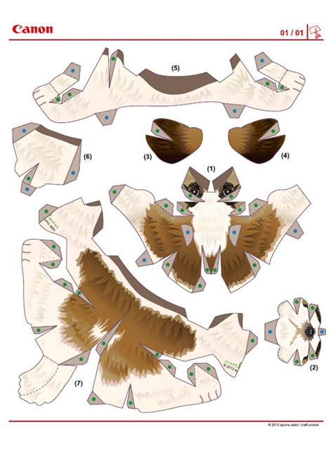 Papercraft Bird Template - image detail for 672 chien paper template chien shih