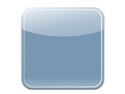 blank app template free sleek blue blank ios app icon psd template titanui