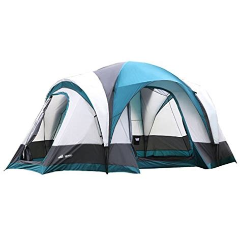 Semoo Water Resistant 5 Person 3 season Lightweight Family Dome Tent for Camping with