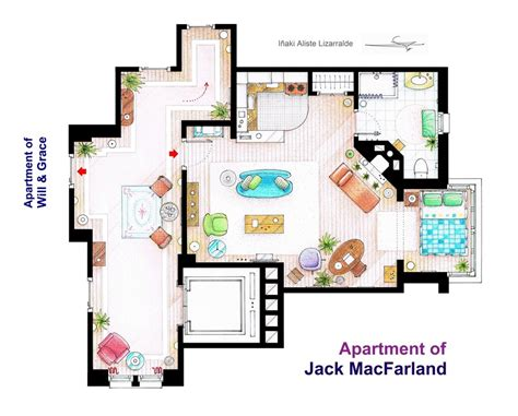 Home Design Shows Nyc by Jack Macfarland S Apartment From Will And Grace By