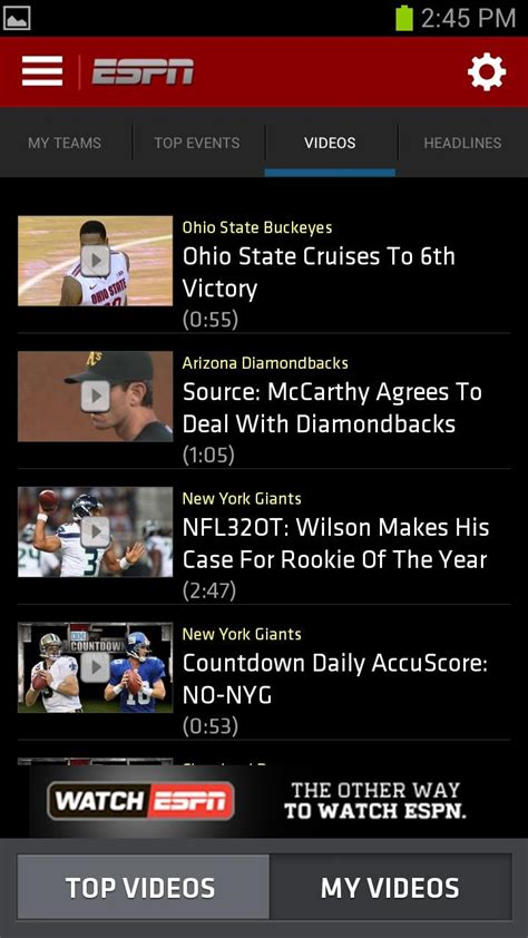 espn app for android espn scorecenter android archives android android news reviews apps phones