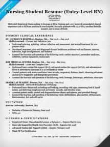 Entry Level Nursing Student Resume Sample Amp Tips Resume
