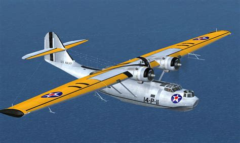 Historic Colors by U S Navy Consolidated Pby5 For Fsx