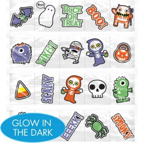Glow In The Dark Tattoos Party City   17 best images about halloween on pinterest glow girl