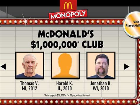 Instant Win Mcdonalds Monopoly - the maths behind mcdonald s monopoly sweepstakes shows the