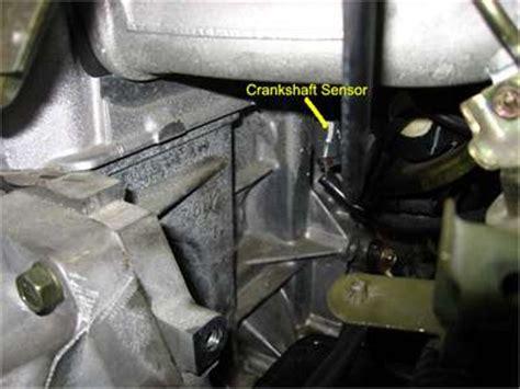solution for quot crank position sensor quot fixya