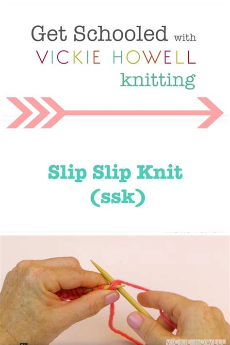how to yo ssk in knitting 17 best images about learn to knit on