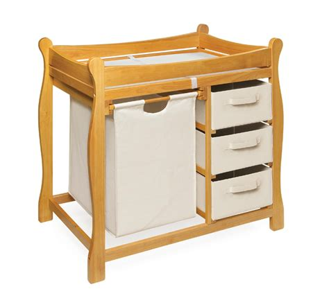 Basket Changing Table Badger Basket Baby Changing Table Honey W 3 Baskets Ebay
