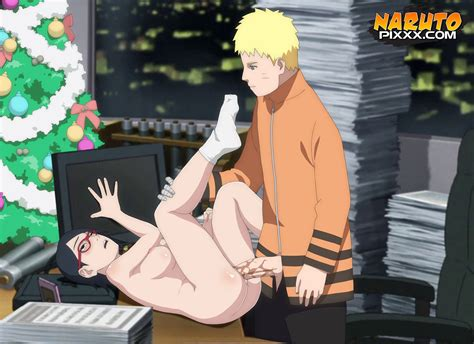 Sarada And Naruto Rex Naruto
