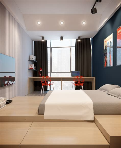 creative bedroom decor a modern apartment with classic design features that would