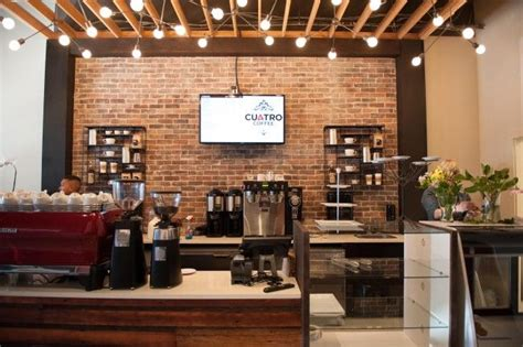 brick and wood coffee shops the perfect back drop to a modern yet classic coffee shop vibe