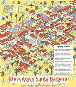 downtown santa barbara map