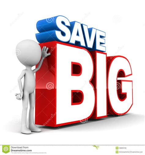 Buy Bid by Save Big Stock Illustration Image Of Mammoth Amount