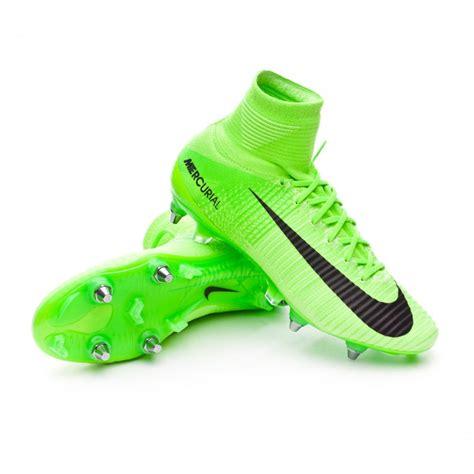 Sepatu Bola Nike Mercurial Superfly V Electric Green Fg Replika Impor nike mercurial superfly vi black white