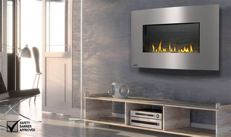 Hanging Gas Fireplace by Napoleon Whd31 Plazmafire Wall Hanging Gas Fireplace