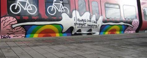 gay graffiti artist  denmark fights homophobia