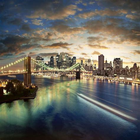 york city brooklyn bridge ipad air wallpaper enter