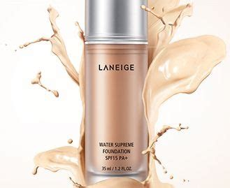 Laneige Water Supreme Foundation foundation water and the o jays on