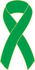 kidney cancer ribbon color kidney cancer awareness ribbon pins green