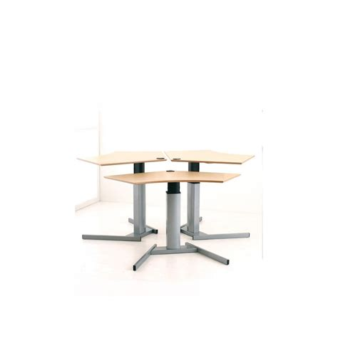 electric table height adjustable table kos ergonomic