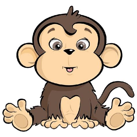 Cartoon Monkeys   Fuzzy   Pinterest   Nursery art, Clip