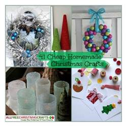 cheap christmas crafts for gifts