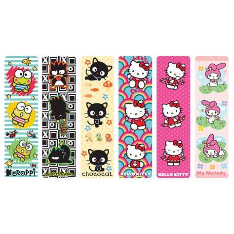 printable bookmarks hello kitty cool school supplies hello kitty 174 friends bookmark