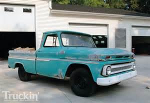 1965 chevy c10 buildup custom chevy truck truckin