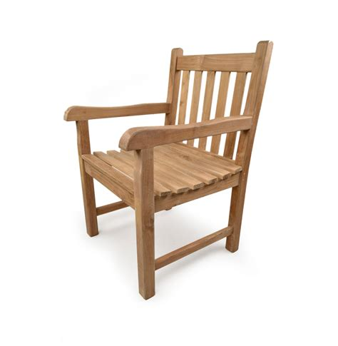 sandringham teak arm chair grade a teak furniture