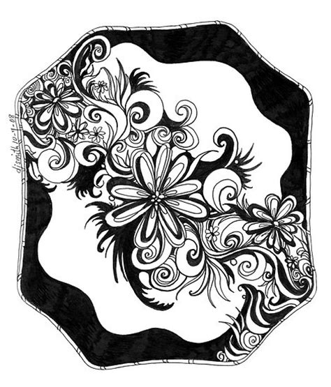 black pen doodles 17 best images about zentangle drawings and doodles on