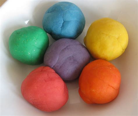 Handmade Playdough - counting coconuts playdough recipe notes