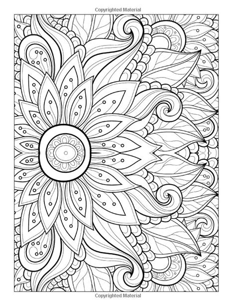 florals a coloring book for adults coloring collection books 17 best ideas about abstract coloring pages on