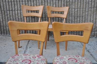 heywood wakefield dining chairs ebay 6 vintage heywood wakefield dogbone m154 dining chairs mid