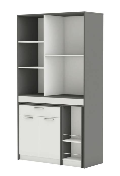mobile cucina mobile da cucina con penisola colore grigio e bianco