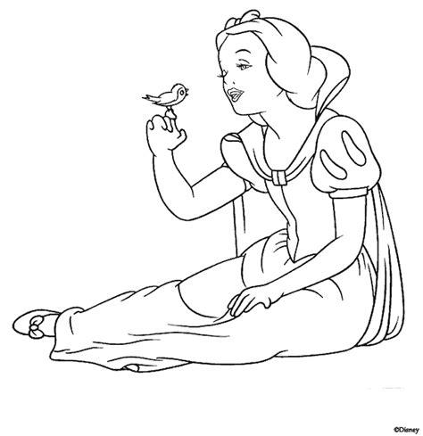 imagenes para pintar blancanieves canalred gt plantillas para colorear de disney