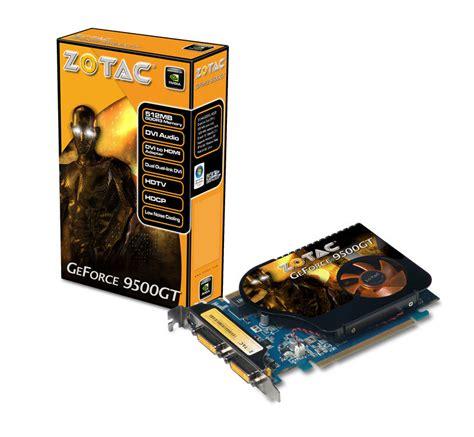 Vga Zotac Geforce 9500gt zotac intros new geforce 9500 gt edition 9500 gt ddr3 and 9500 gt ddr2 cards techpowerup