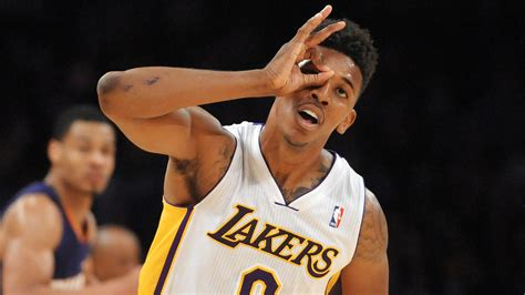 nick young tattoos lakers swaggy p breaks own rule gets on arm