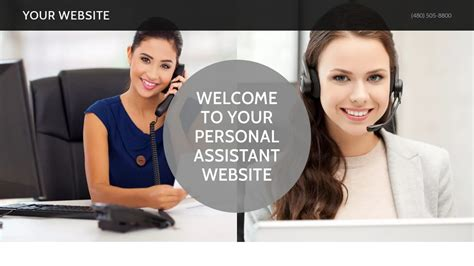 Exle 15 Personal Assistant Website Template Godaddy Personal Concierge Website Templates