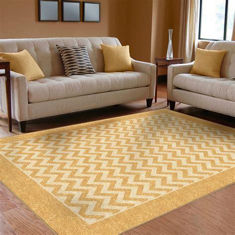 chevron area rug gold chevron rug home decor